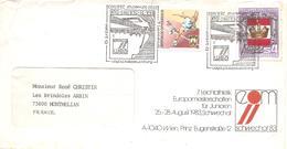 1983 Championnats D'Europe D'Athlétisme Juniors : Schwechat (autriche) Courrier Du Comité D'Organisation. - Athlétisme