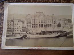 Photo Ancienne - Le Havre - La Bourse Et Le Bassin Du Commerce - Ohne Zuordnung