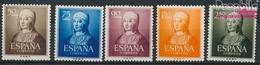 Spanien 989-993 (kompl.Ausg.) Postfrisch 1951 Isabella (9336117 - 1931-Heute: 2. Rep. - ... Juan Carlos I