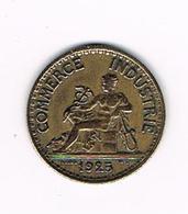 //  FRANKRIJK 50  CENTIMES 1925 - France