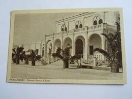 CPA-KP-PC- SOMALIA   SOMALIS , MOGADISCIO   - COLONIA ITALIANA -- BANCA BANK D ITALIA - Somalië