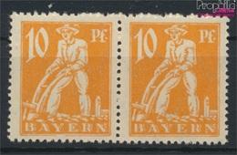 Bavière 179II, Cadre Sous Y Cassé (Champ 78) Neuf Avec Gomme Originale 1920 Adieu La Série (9277075 (9277075 - Beieren