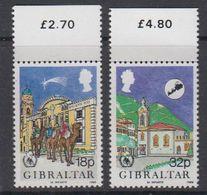 Gibraltar 1986 Christmas 2v ** Mnh (44054B) - Gibraltar