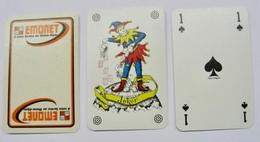 JEU DE 32 CARTES + 1 JOKER SANS ETUI EMONET A VOTRE SERVICE SUR RHONE-ALPES / MADE IN BELGIUM - Cartes à Jouer Classiques