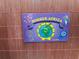 Phonecard Spain Winner Africa Used - Espagne