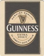 UNUSED BEERMAT - GUINNESS BREWERY (DUBLIN, IRELAND) - GUINNESS EXTRA STOUT - (Cat No (1732) - (2011) - Portavasos