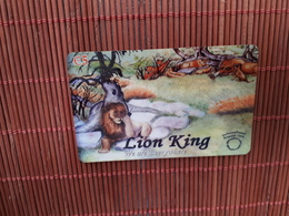 The Lion King Disney Prepaidcard Used Rare - Disney