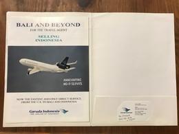 "Garuda Indonesia ""BALI & BEYOND"" Booklet For The Travel Agent , 2002 - Indonésie"