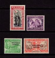 SAMOA    1946    Peace  Issue    Set  Of  4    MH - Samoa