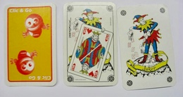 JEU DE 52 CARTES + 2 JOKER SANS ETUI CLIC & GO / CARTA MUNDI - Cartes à Jouer Classiques