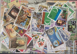 Comoros Stamps-100 Different Stamps - Comoros