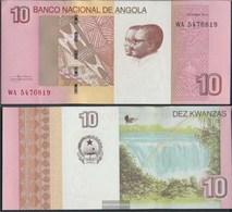 Angola Pick-number: 151B Uncirculated 2012 10 Kwanzas - Angola