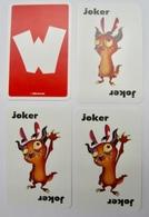 JEU DE 52 CARTES + 3 JOKER SANS W CDA BRANDS A VOIR ROI DAME VALET - Cartes à Jouer Classiques