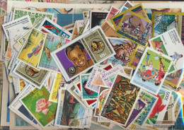 Guinea Stamps-800 Different Stamps - Guinea (1958-...)