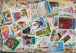 Guinea Stamps-400 Different Stamps - Guinea (1958-...)