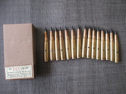 Boite De 15 Cartouches Mauser SmK 1938 - Decorative Weapons