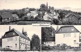 DEUTSCHLAND Allemagne ( RNW Lindlar ) Gruss Aus HOHKEPPEL - Saststätte Ossenbach ( Hotel Restaurant ) CPSM Dentelée PF - Lindlar
