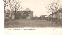 CP. - NAMUR - Citadelle - Restaurant Du Donjon - L.L. Brux. - 8 En 1908 - Namur