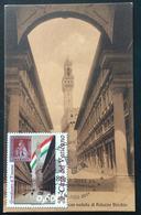 """2011 Cartolina MAXI FDC """"150°ANNIVER. UNITA' D'ITALIA 2011 - Granducato Di Toscana - Vaticano Benedetto XV - FDC"""