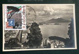"""2011 Cartolina MAXI FDC """"150°ANNIVER. UNITA' D'ITALIA 2011 - Regno Delle Due Sicilie - Vaticano Benedetto XV - FDC"""