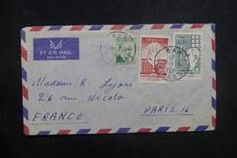 TURQUIE - Enveloppe De Gar Pour Paris En 1959, Affranchissement Plaisant - L 37655 - Lettres & Documents