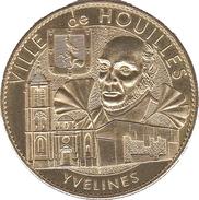 78 YVELINES HOUILLES SCHOELCHER ESCLAVAGE MÉDAILLE SOUVENIR ARTHUS BERTRAND 2011 JETON TOURISTIQUE MEDALS TOKENS COINS - 2011