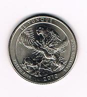 //  U.S.A.  1/4 DOLLAR  PUERTO RICO - EL YUNQUE   2012  D - Émissions Fédérales
