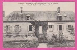 MACHEMONT - CP 66 -  Gare De Thourette , Villégiature Ch. Bernard , Les Chalets Vue Generale - France
