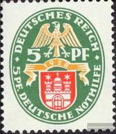 German Empire 425Y With Hinge 1928 Emergency:Crest - Nuevos