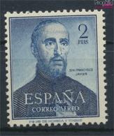 Spanien 1010 (kompl.Ausg.) Postfrisch 1952 Franz Xaver (9336114 - 1931-Heute: 2. Rep. - ... Juan Carlos I
