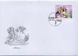 Liechtenstein Stamp On FDC - 2005