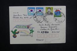 CORÉE - Entier Postal ( Espéranto ) + Compléments De Séoul Pour La France En 1994 - L 37662 - Corée Du Sud