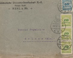 Allemagne:Periode  Inflationniste 1921/1923 - Lettres & Documents