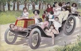 AL12 Children - Multiple Babies In A Car - Babies