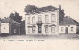 619 Chievres Place De L Eglise Et Villa Richard - Chièvres