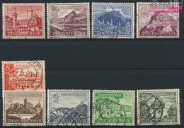 Deutsches Reich 730-738 (kompl.Ausg.) Gestempelt 1939 Bauwerke (9293764 - Gebraucht