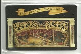 """5061 """" SAN FELICE MARTIRE-SANTO STEFANO DI MAGRA-LA SPEZIA """" IN PLASTICA  - ORIGINALE - Santini"""