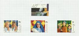 Australie N°1623 à 1626 Cote 3.75 Euros - 1990-99 Elizabeth II