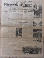 Journal Défense De La France (31 Août 1944) Les Alliés Avancent - Le Barreau Parisien - - Autres
