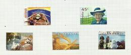 Australie N°1660 à 1669 Cote 6.75 Euros (1658, 1659 Offerts) - 1990-99 Elizabeth II