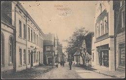AK Dülmen Bergstrasse Mit Geschäftshäuser Bei Coesfeld Münster   (22617 - Deutschland