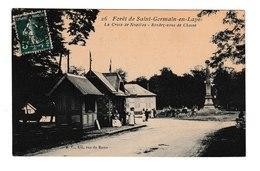 FRANCE / CPA  / ST.GERMAIN EN LAYE / LA CROIX DE NOAILLES / 1908 - St. Germain En Laye (Château)
