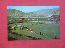 Foot Ball---------Sun Bowl Stadium  El Paso Texas      Ref 3531 - Postcards