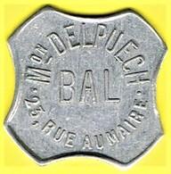 Jeton De Bal - DELPUECH - Paris - Monétaires / De Nécessité