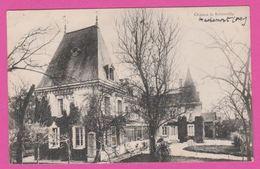 MACHEMONT - CP 80-  Chateau De Roberville - France