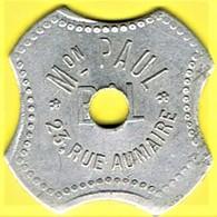 Jeton De Bal - JENZER - Paris - Monétaires / De Nécessité