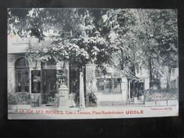 UCCLE  Place Vanderkindere Café J. Lemaire  A LA VUE DES AVENUES Carte Très RARE - Uccle - Ukkel