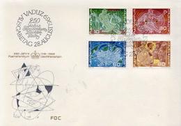 Liechtenstein Set On FDC - Sciences