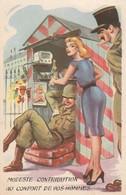 Illustrateurs : Carrière L. :  Modeste Contribution Au Confort De Vos Hommes ( Militaire Humoristique ) - Carrière, Louis