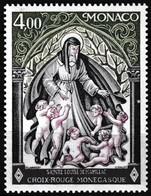 T.-P. Gommé Neuf**  Croix-Rouge Monégasque Sainte Louise De Marillac - N° 1064 (Yvert) - Principauté De Monaco 1976 - Monaco